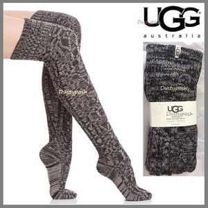 UGG Cable Knit Over The Knee Socks Thigh High OTK